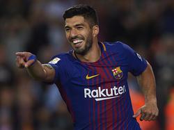 Luis Suárez war gegen Girona erfolgreich
