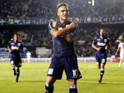 Martínez ha marcado siete goles y ha dado tres asistencias en ocho partidos. (Foto: Getty)