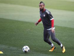 Arturo Vidal steht vor dem Abschied aus München