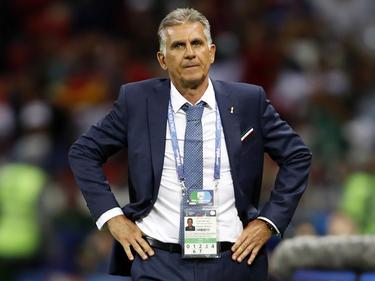 Irans Nationaltrainer Carlos Queiroz ist stolz auf sein Team