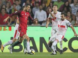Auch ohne Treffer von CR7 setzen sich die Portugiesen durch