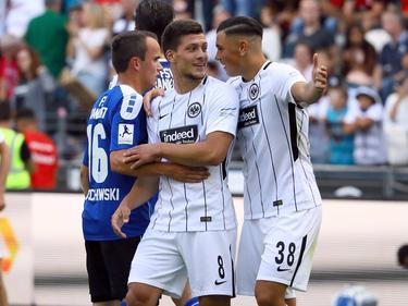 """Unter dem Motto """"Wir sind alle Frankfurter Jungs"""" eröffnet der Bundesligist Eintracht Frankfurt die Saison 2017/18"""