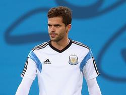 Fernando Gago wollte gegen Peru unbedingt weiterspielen
