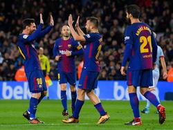 Der FC Barcelona fegte Celta Vigo mit 5:0 vom Feld