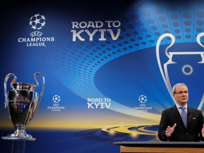 Champions League Loting Picture: Champions League » Nieuws » CL-loting: Engels Onderonsje
