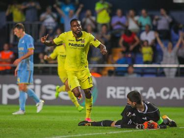Bakambu anotó el segundo gol del Villarreal. (Foto: Getty)