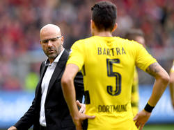 Marc Bartra (r.) sprach in den höchsten Tönen über Cheftrainer Peter Bosz