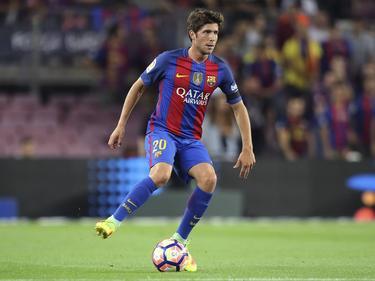 Sergi Roberto se ha afianzado en el primer equipo. (Foto: Imago)