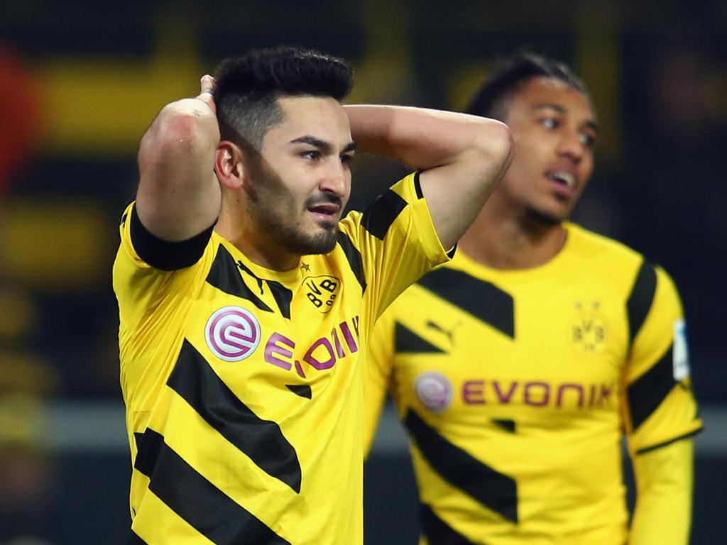 Ilkay Gündogan (l.) und Pierre-Emerick Aubameyang zu gemeinsamen BVB-Zeiten