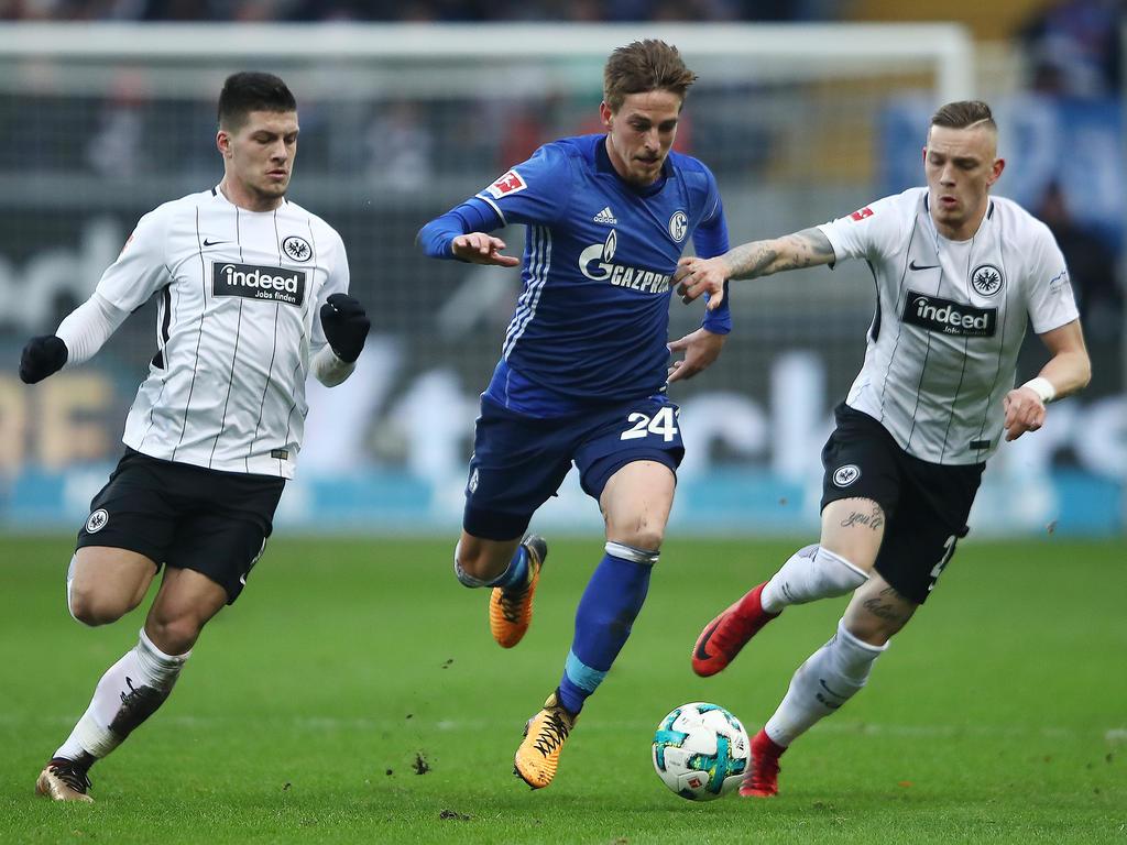 Im Halbfinale des DFB-Pokals treffen Schalke und Frankfurt aufeinander