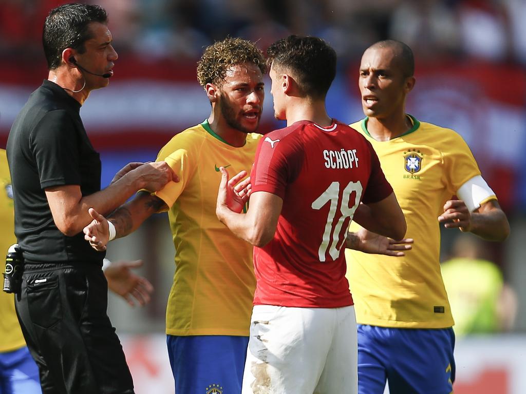 Schöpf im Wortgefecht mit Neymar