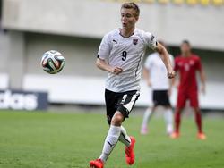 Valentin Grubeck bei der U19-EM 2014 in Ungarn