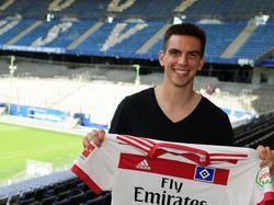Christoph Moritz schließt sich dem HSV an (Bildquelle: twitter.com/hsv)