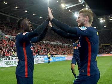El Leipzig no ceja en su empeño de conseguir el título. (Foto: Getty)
