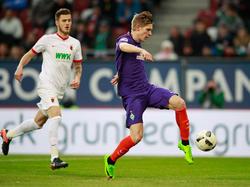 Aron Jóhannsson kam für Werder nur selten zum Einsatz