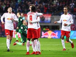 Heimsieg: RB Leipzig schlägt Werder Bremen