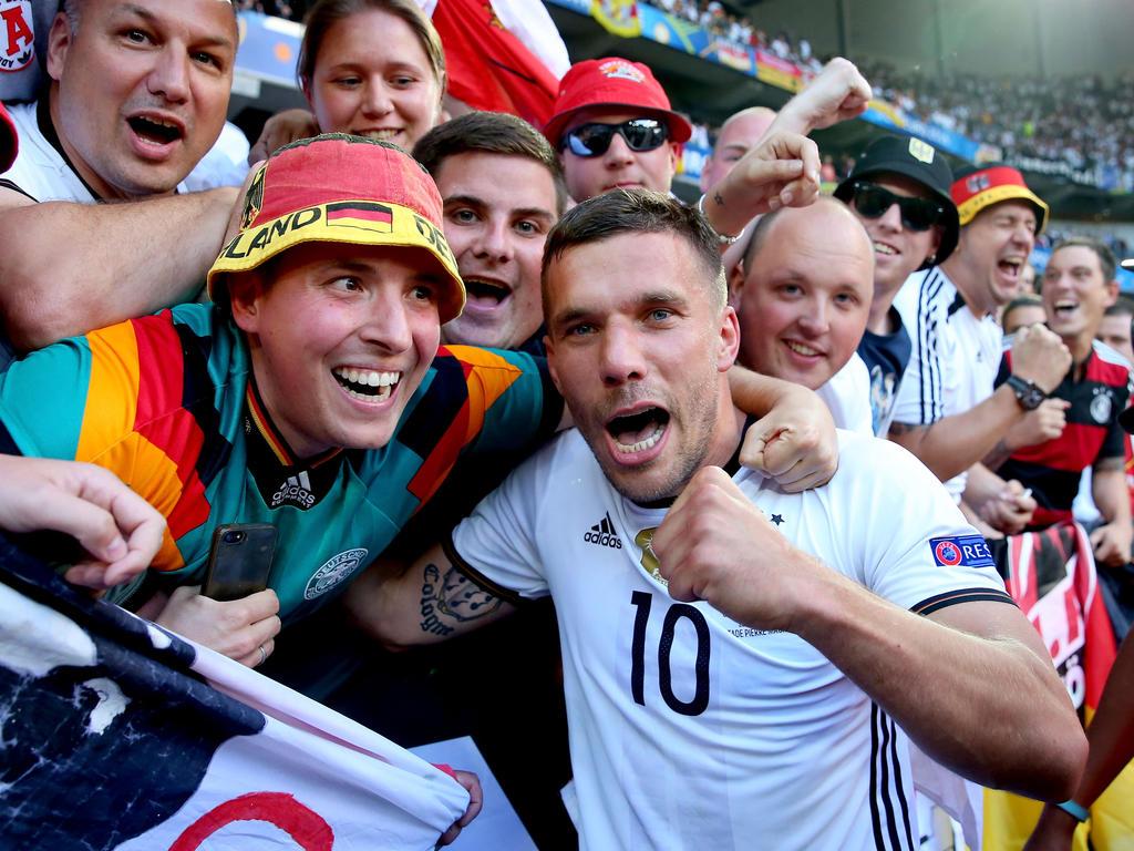 Podolski macht gegen England sein letztes Länderspiel