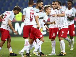 Salzburg träumt weiter von der Gruppenphase