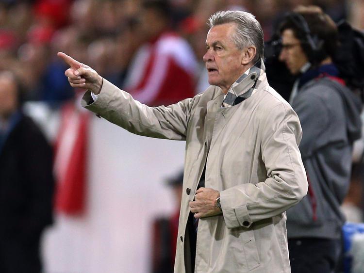 Ottmar Hitzfeld nahm BVB-Trainer Peter Stöger in Schutz