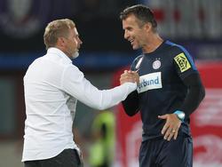Austria-Coach Thorsten Fink schwört auf die Arbeit von Nikola Vidović