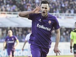 Nikola Kalinic hizo el 2-1 para el conjunto de Florencia. (Foto: Imago)
