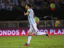 Leo Messi en marzo con Argentina. (Foto: Imago)