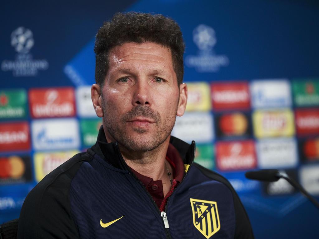 Diego Simeone will seinen Vertrag bei Atlético offenbar erfüllen