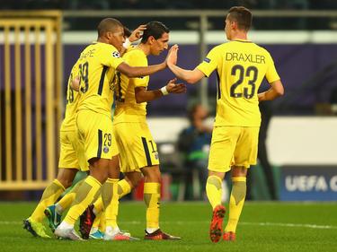 Einen glatten Auswärtssieg bejubelte PSG gegen den RSC Anderlecht