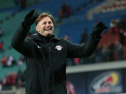 Für Ralph Hasenhüttl ist die Partie gegen den FC Augsburg ein Topspiel