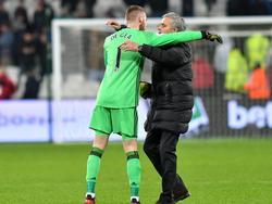 José Mourinho will Keeper David De Gea nicht so einfach ziehen lassen