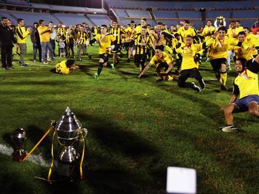 Peñarol logró defender el título del campeonato uruguayo. (Foto: Imago)