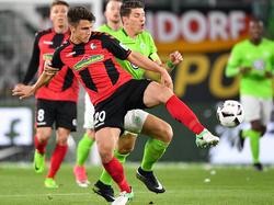 Kempf (l.) absolvierte in dieser Saison erst sechs Pflichtspiele