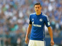 Ein Bild aus alten Zeiten: Julian Draxler im Trikot von Schalke 04