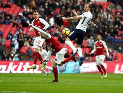 Harry Kane hat Tottenham zum Sieg gegen Arsenal geköpft