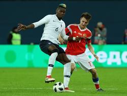 Paul Pogba soll von russischen Zuschauern beleidigt worden sein