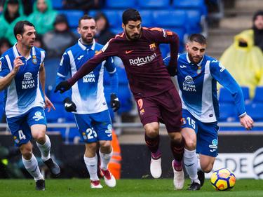 El Espanyol volvió a crear problemas al Barcelona. (Foto: Getty)