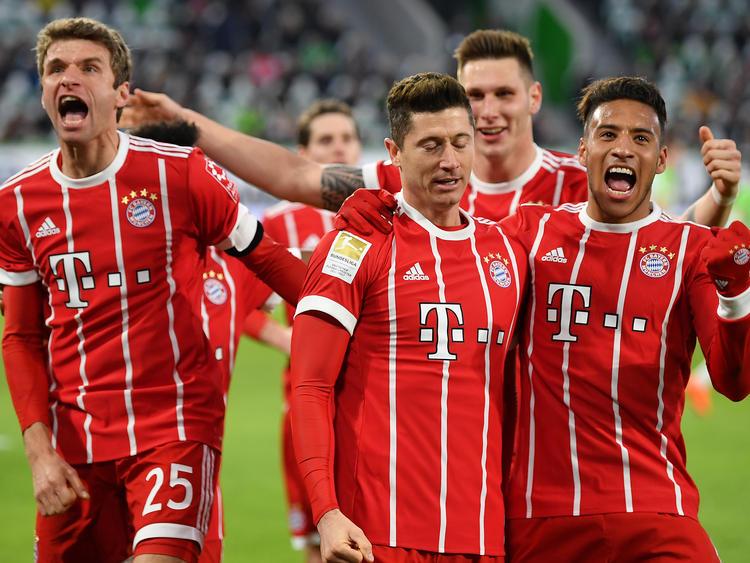 Der FC Bayern durfte spät jubeln