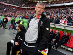Friedhelm Funkel hat die letzten drei Partien mit Fortuna Düsseldorf verloren