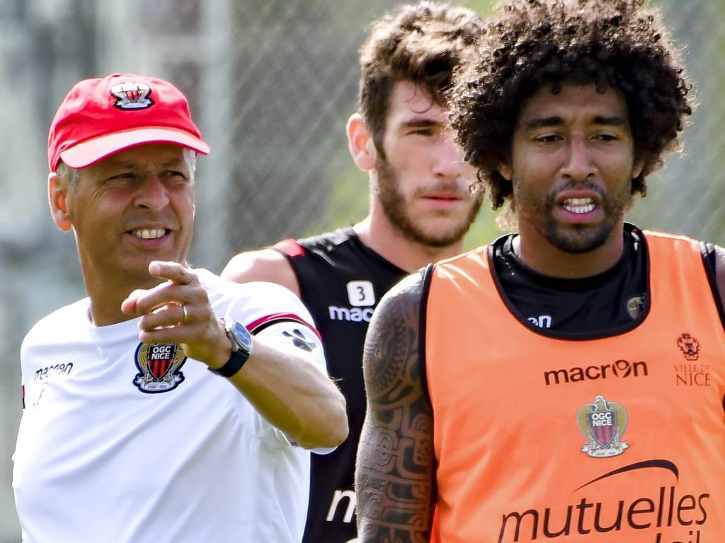 Dante ist unter Lucien Favre Kapitän und Stammspieler in Nizza
