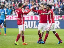 Thomas Müller (M.) gehörte zu den besten Bayern-Spielern