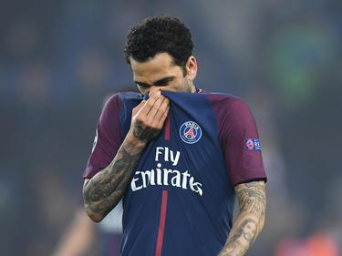 Steht Dani Alves bei Paris Saint-Germain vor dem Aus?