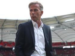 Könnte in Stuttgart zum letzten Mal auf der VfL-Bank gesessen haben: Andries Jonker