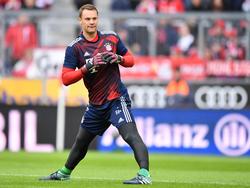 Manuel Neuer hofft weiter auf seine WM-Teilnahme