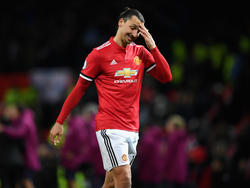Steht angeblich vor dem Abgang bei Manchester United: Zlatan Ibrahimovic