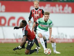 Florian Trinks (r.) verlässt die SpVgg Greuther Fürth