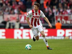 Dominique Heintz vom 1. FC Köln will mit Kampf punkten