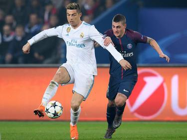 Cristiano Ronaldo (l.) wird mit einem Wechsel zu Paris Saint-Germain in Verbindung gebracht