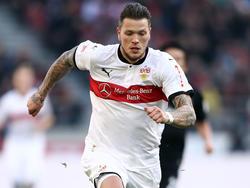 Steht kurz vor einem Wechsel zum VfL Wolfsburg: Stuttgarts Daniel Ginczek