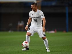 Abgesehen vom sportlichen Mittelmaß ist Podolski in Japan sehr glücklich