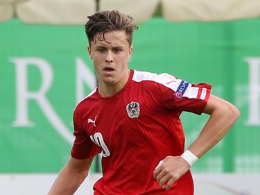 Christoph Baumgartner hat bereits zwei U21-Länderspiele in den Beinen